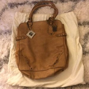 A never sure used Frye Tote bag